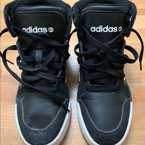 Adidas Neo Label Hightop Basketball Style Sneakers